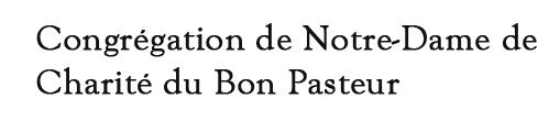Congrégation de Notre-Dame de Charité du Bon Pasteur