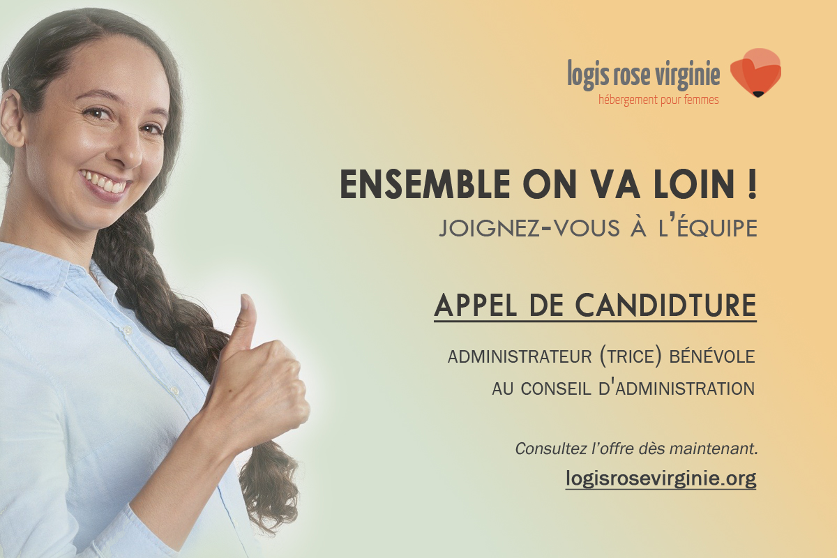 Appel de candidature Logis Rose Virginie